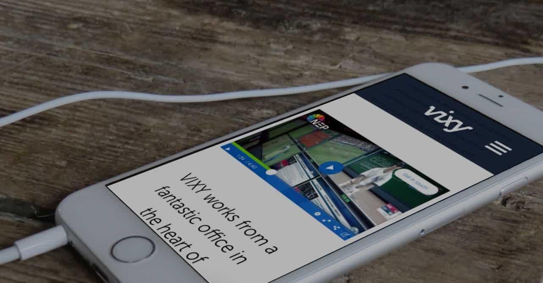 vixy inline video playback iphone ios