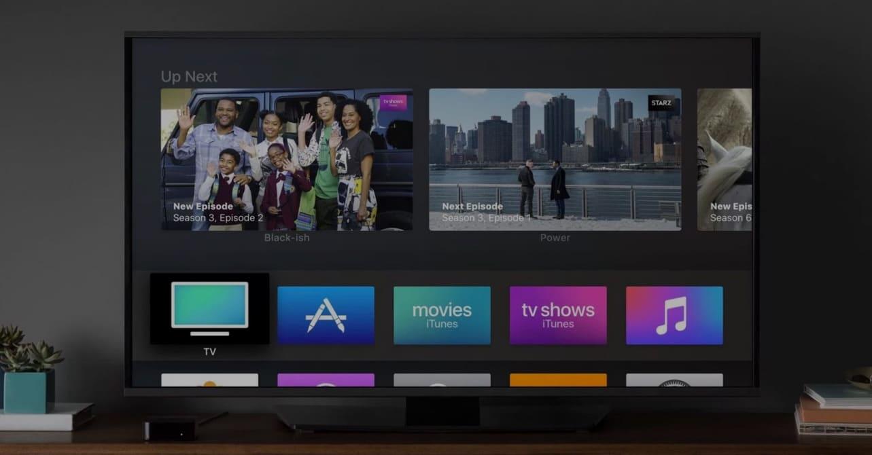 apple tv air play media streaming