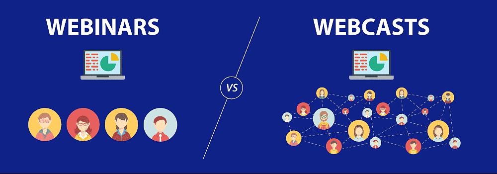 Vixy blog webinar vs webcast - vixy video