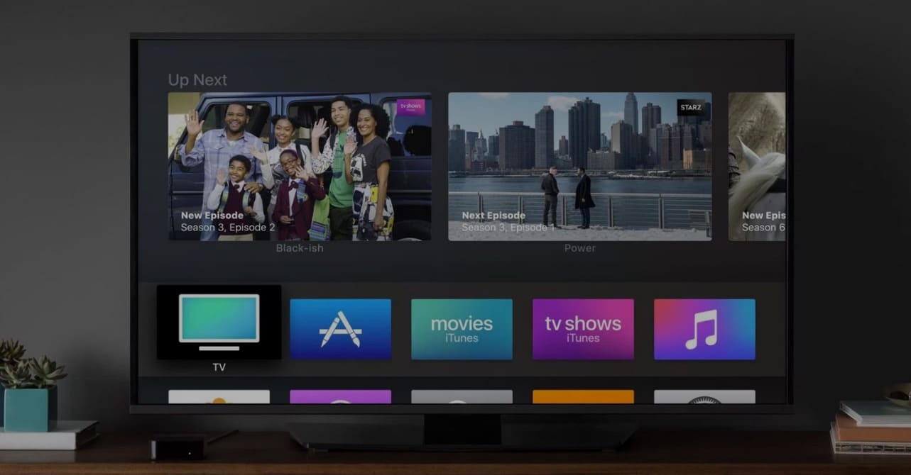 apple tv air play media streaming